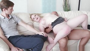 Wife Fucks A Stud In Front Of Her Loser Husband