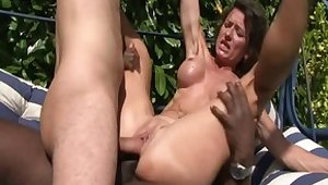 Best pornstars Bella Morgan, Alice Black and Joyce Lima in fabulous anal, facial adult clip