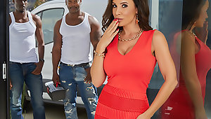 MILF Lisa Ann's Interracial Trilogy