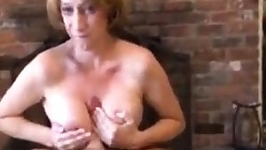Nice Mature Mega Boobs Busty With respect to Blowjob